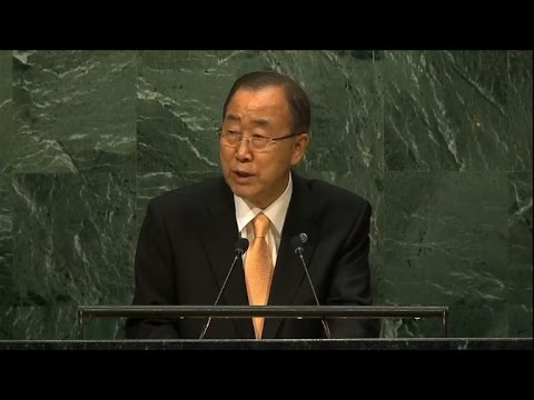 UN chief opens General Assembly with call to end Syria fighting