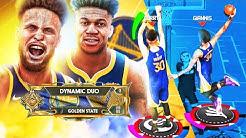 LEGEND GIANNIS ANTETOKOUNMPO & STEPH CURRY DOMINATE the PARK! BEST BUILDS NBA 2K20!