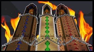 WHO WILL REACH THE TOP OF THE TRICKY TOWERS FIRST!?