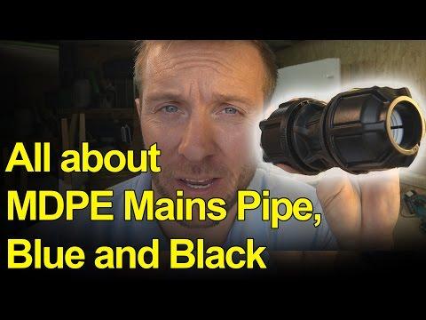 MDPE MAINS WATER PIPE - ATPLAS CHAMBER - Plumbing Tips