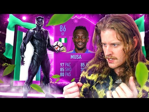 THIS CARD IS BROKEN! 86 RATED SAUDI LEAGUE SBC MUSA! FIFA 19 Ultimate Team