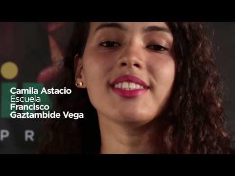 Cantante CAMILA ASTACIO, Escuela Francisco Gaztambide Vega
