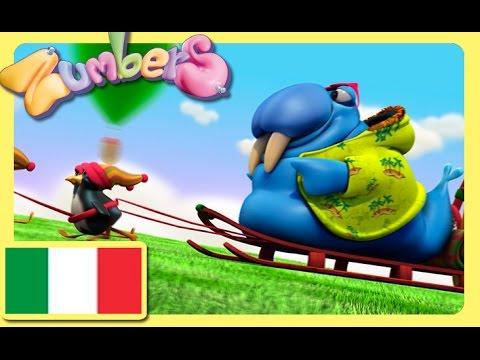 Zumbers, learning Italian numbers. EP 4. Educational cartoon