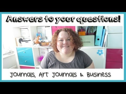 Answers to your questions - Journal / Art Journal ...