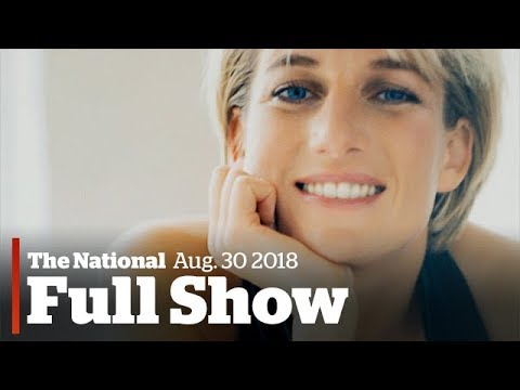 The National for Wednesday August 30th: Harvey returns, remembering Diana, youth suicide