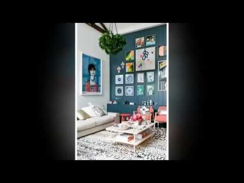 Идеи размещения картин на стене