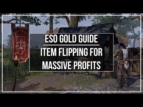 ESO Gold Guide - Item Flipping For MASSIVE Profits