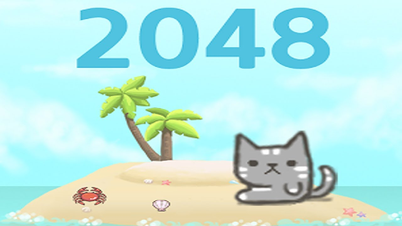 Cat 2048 Kitty Cat Island 2048 Puzzle Android Gameplay