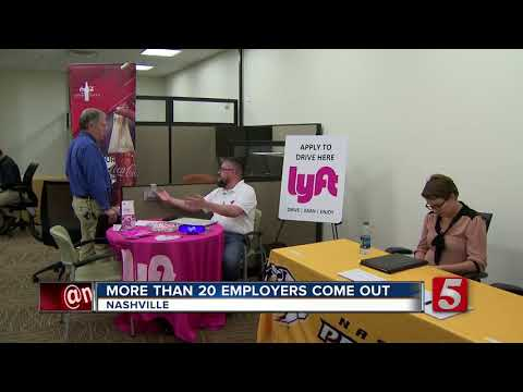 Dozens Search For Employees At Local Job Fair