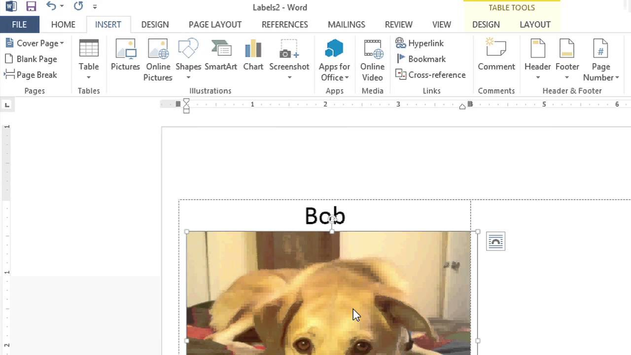 how to insert a picture behind microsoft word name tags microsoft