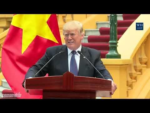 President Trump Press Conference on Putin & Russia