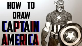 Ep. 120 How to draw Captain America