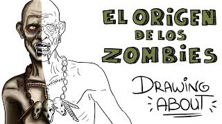 LA Hª VUDÚ DEL ORIGEN DE LOS ZOMBIES | Drawing About
