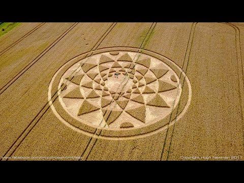 CROP CIRCLE 2017 - Highworth, Wiltshire, 4th August