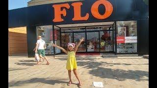 Elif için yazlık ayakkabı bakıyoruz , FLO alışverişimiz, eğlenceli çocuk videosu
