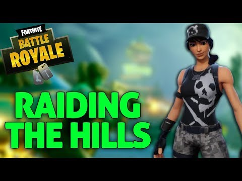 Raiding The Hills Fortnite Battle Royale Gameplay Ninja Youtube
