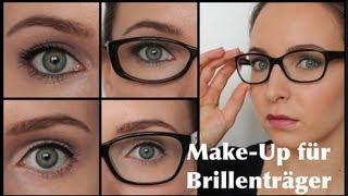 BRILLENTRÄGER Make-Up   Augen GRÖßER / KLEINER schminken   aWish