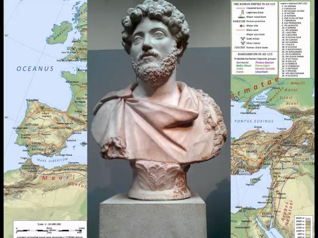 Roman History 19 - Marcus Aurelius 140-180 AD