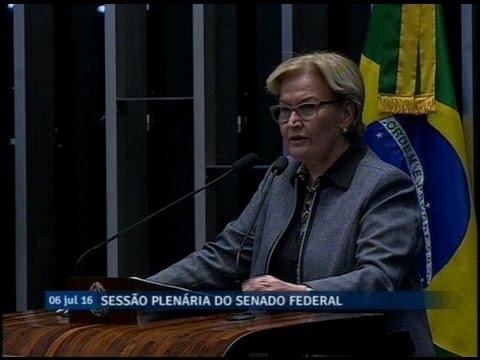Ana Amélia avalia trabalho da Comissão Especial do Impeachment