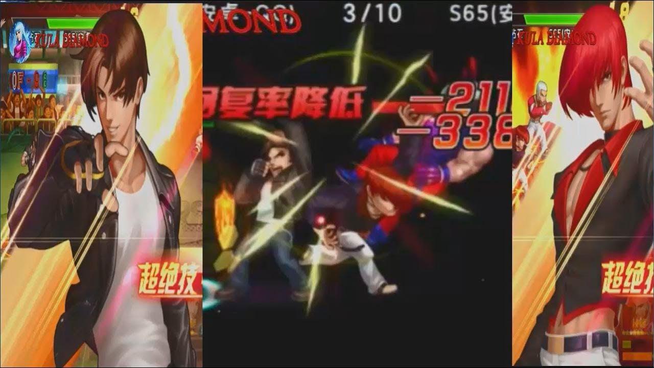 Quyền vương 98 KOF'98:Test New Combo Cặp đôi mới KOF Flame Kyo 2003 vs  Instict Iori XIII.Too hard