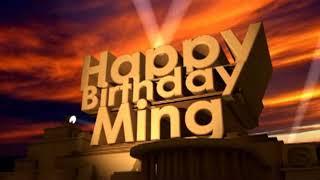 Happy Birthday Ming