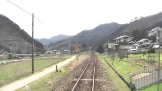 [HD]姫新線 刑部→新見 Kishin Line going to Niimi terminal