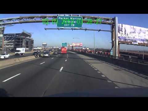I-95 into Philadelphia PA