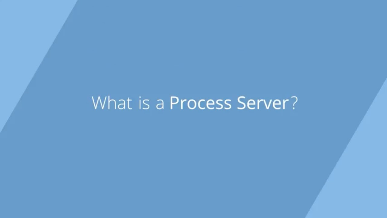 Process Serving Information, Frequently Asked Questions