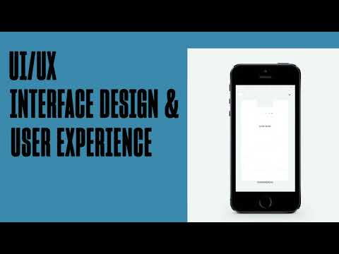 Master S Degree Ui Ux Interface Design User Experience Youtube