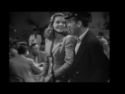 Old School Sexy - Lauren Bacall - To Have And Have Not