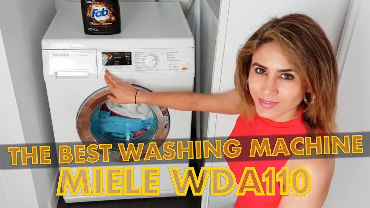 miele w classic wda110 review the best washing machine. Black Bedroom Furniture Sets. Home Design Ideas