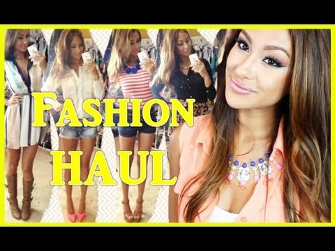 Fashion HAUL Look Book ♥ - Try on style