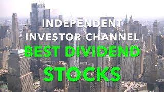 Best Dividend Stocks | My Top 20 Best Dividend Stocks