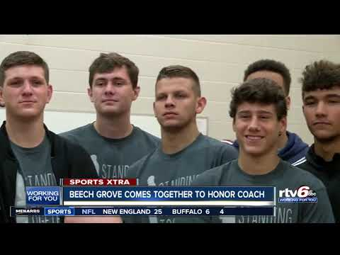 Beech Grove comes together to honor coach battling cancer
