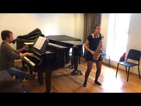 DENISOV, Sonata, 1r. Moviment. Premi al talent individual BBVA