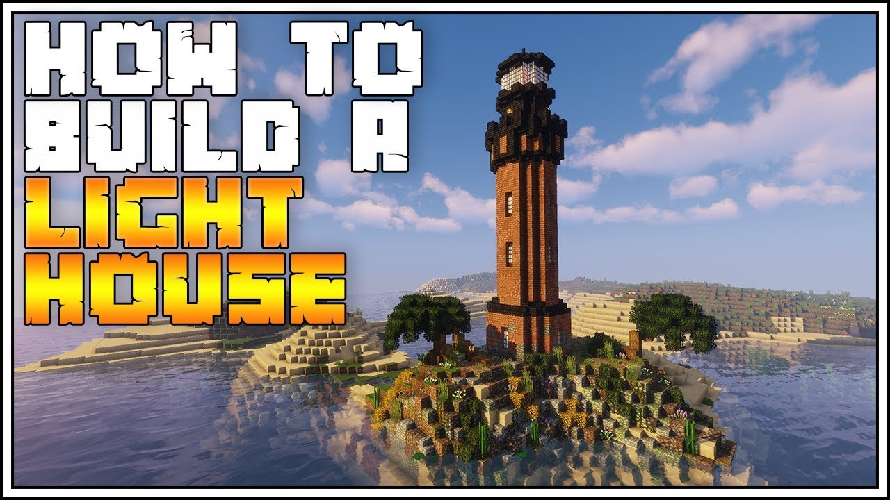 Minecraft Tutorial ► How to Build a Lighthouse
