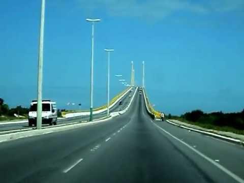 Ponte Newton Navarro - Natal - Rio Grande do Norte - Brasil