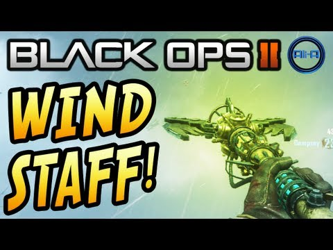 """WIND STAFF!"" - ORIGINS Zombies! ""HOW TO BUILD"" TUTORIAL! (Black Ops 2 Apocalypse Gameplay)"