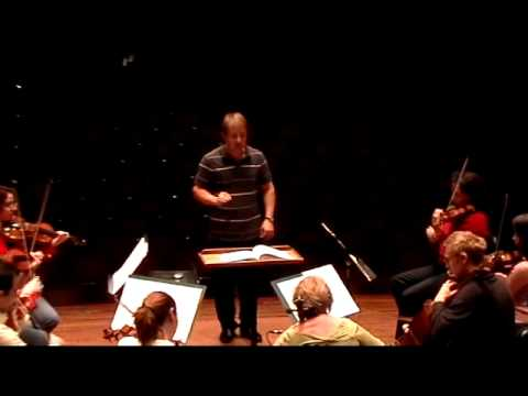 Seattle Symphony Music Director Designate Ludovic Morlot Rehearses The Orchestra