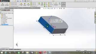 Vẽ 3D bằng phần mềm Solidworks 2015 (phần 1)