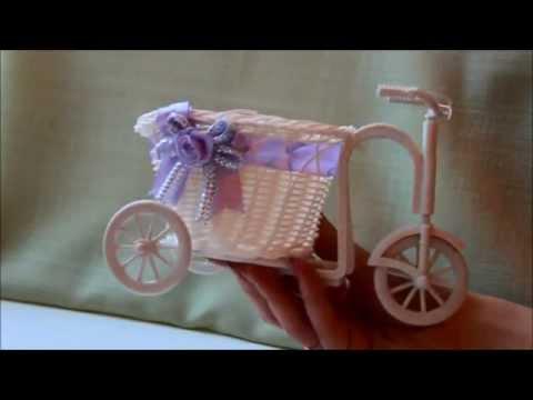 Смотреть Посылки с Aliexpress. Распаковка (семена мальвы и цинии, декоративный велосипед-кашпо)