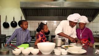Patrice Kamden Making West African Chicken & Peanut Curry