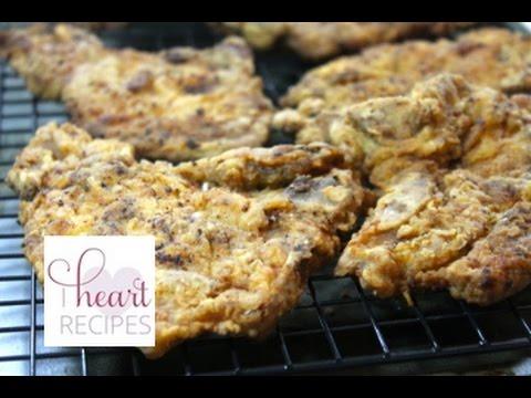 Southern Fried Pork Chops - I Heart Recipes