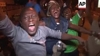 Celebrations as Julius Maada Bio declared SLeone's new president