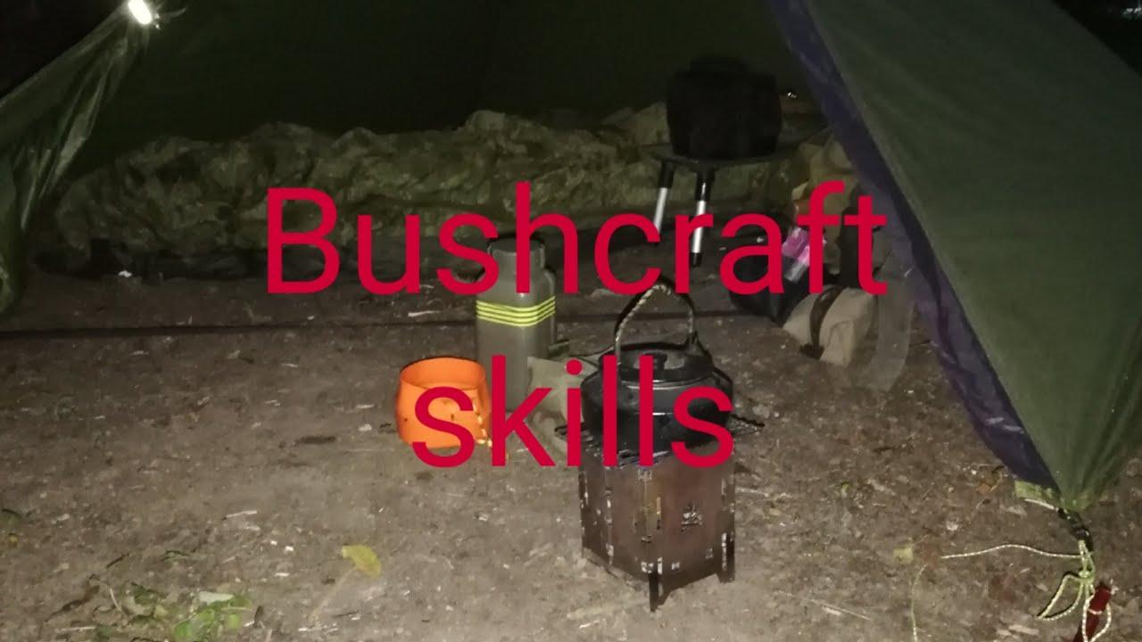 Bushcraft Skills - Outdoor skills - Basic Skills - tripod and hook - Bushcraft