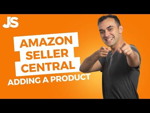 Amazon Seller Central Tutorial   Create An Amazon Listing
