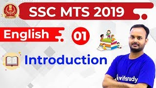6:30 PM - SSC MTS 2019 | English by Sanjeev Sir | Introduction