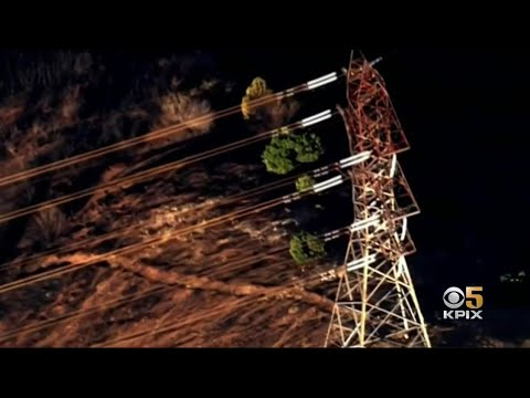 PG&E Say High Voltage Power Line Wasn't Shut Off Before Kincade Fire Sparked