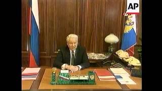 Russia/Chechnya-Yeltsin Halts All Army Operations