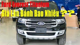 Giá xe Ford Everest Titanium ✅ - Ford Everest Titanium số tự động màu Đen